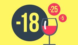 Le premier verre de vin : âge légal !