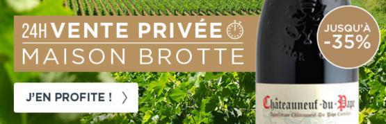 Vente privée maison Brotte