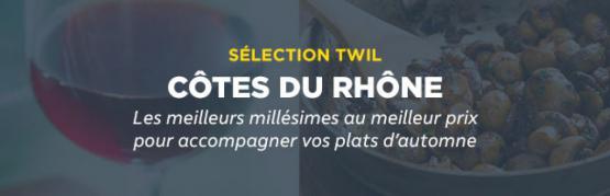 Sélection appellation Côtes-du-Rhône