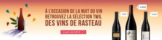 Sélection twil des vins de Rasteau