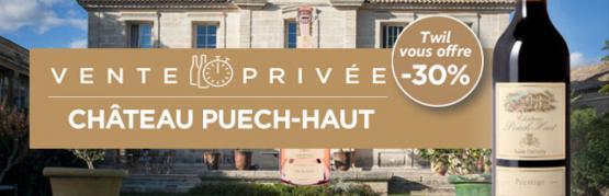 Vente privée Château Puech-Haut