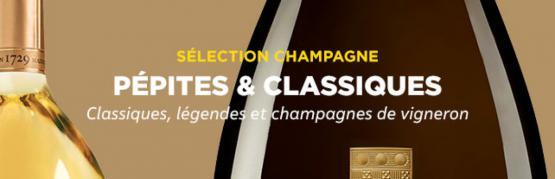 Champagnes : pépites & classiques