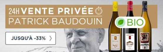 Vente privée domaine Patrick Baudouin