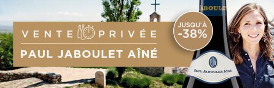 Vente privée Paul Jaboulet Aîné