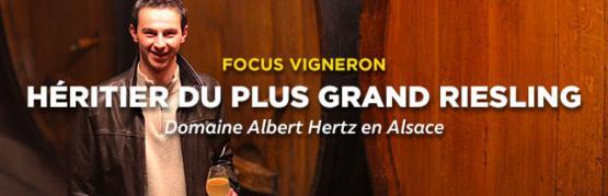 Albert Hertz, héritier du meilleur Riesling du monde