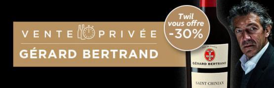 Vente privée Gérard Bertrand