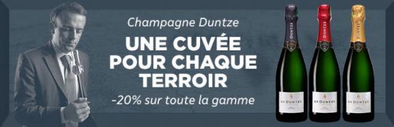 Champagnes G.F Duntze cuvées Légendes