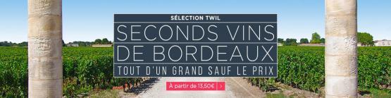 Seconds vins des grands château de Bordeaux