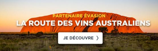 Sur la route des vins australiens