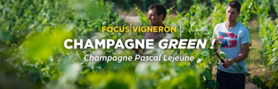 Pascal Lejeune, le champagne green !