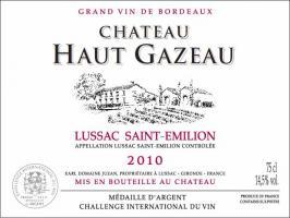 Château Haut Gazeau
