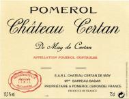 Château Certan de May (De Certan)