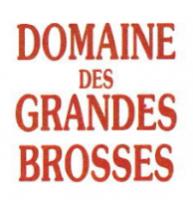 Domaine des Grandes Brosses