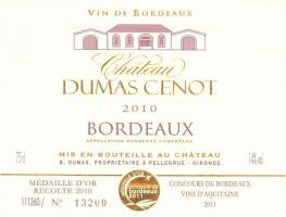 Château Dumas Cenot