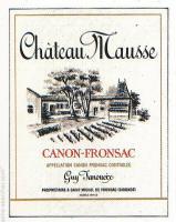 Guy Janoueix- Château Mausse