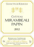 Château Mirambeau Papin
