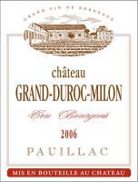 Château Grand Duroc-Milon