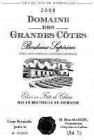 Domaine des Grandes Côtes