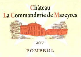 Château La Commanderie de Mazeyres