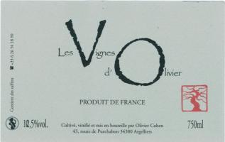 Les Vignes d'Olivier
