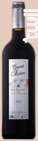 Cuvée Harmonie - Château Grande Maison - 2012 - Rouge