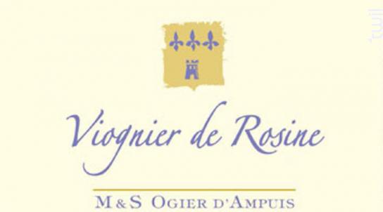 Viognier de Rosine - Michel & Stéphane Ogier D'Ampuis - 2018 - Blanc
