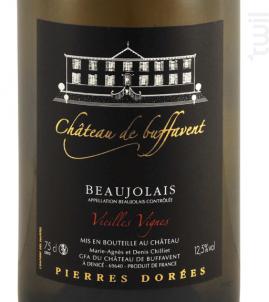 Beaujolais Vielles Vignes - Château de Buffavent - 2016 - Blanc