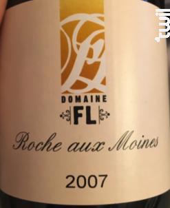 ROCHE AUX MOINES - Domaine FL - 2010 - Blanc