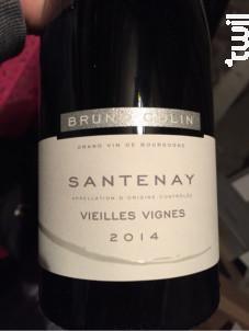 Santenay Vieilles Vignes - Domaine Bruno Colin - 2017 - Rouge