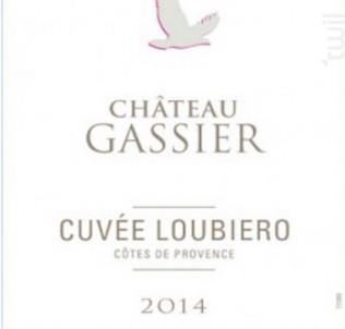 Cuvée Loubiero - Château Gassier - 2015 - Rosé