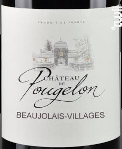 Château de Pougelon • Beaujolais-Villages - Vins Descombe - 2020 - Rouge
