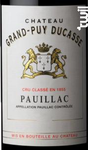 Château Grand-Puy Ducasse - Château Grand-Puy Ducasse - 2016 - Rouge