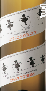 Director's cut - chardonnay - Francis Ford Coppola Winery - 2016 - Blanc