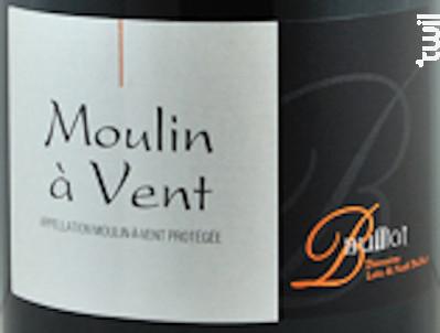 Moulin à Vent - Domaine Bulliat - 2018 - Rouge