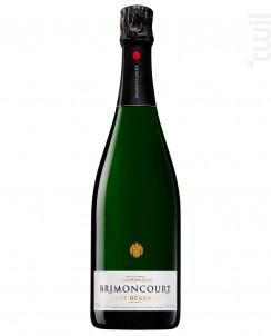 Brut Régence - Champagne Brimoncourt - Non millésimé - Effervescent
