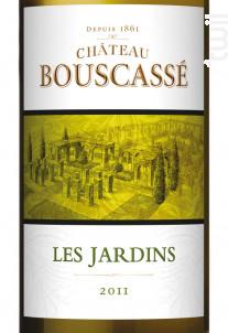 Jardins Bouscassé - Château Bouscassé - 2015 - Blanc