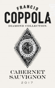Diamond collection - cabernet sauvignon - Francis Ford Coppola Winery - 2017 - Rouge