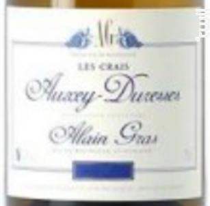 Auxey-Duresses Les Crais - Domaine Alain Gras - 2018 - Blanc