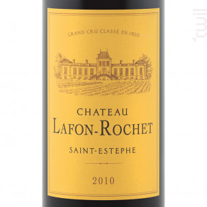 Château Lafon-Rochet - Château Lafon-Rochet - 2001 - Rouge