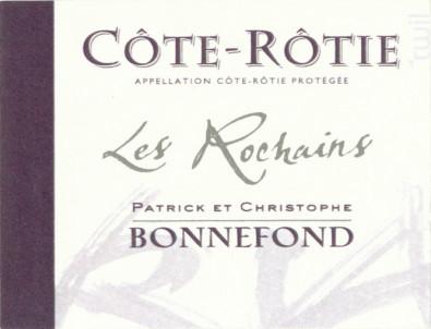 Les Rochains - Domaine Patrick & Christophe Bonnefond - 2015 - Rouge