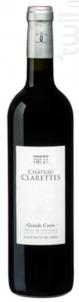 Grande cuvée Rouge - Château Clarettes - 2015 - Rouge