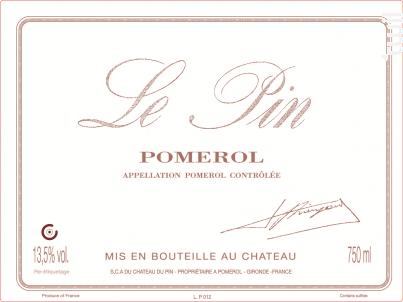 Château Le Pin - Château Le Pin - 2015 - Rouge