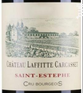 Château Laffitte Carcasset - Château Laffitte-Carcasset - 2016 - Rouge