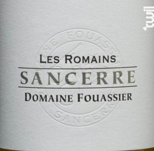 Les Romains - Domaine Fouassier - 2017 - Blanc