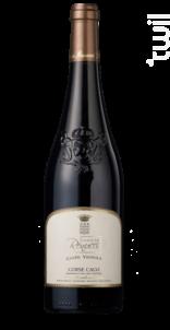 Cuvée Vignola - Domaine Renucci - 2015 - Rouge