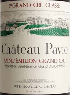 Château Pavie - Château Pavie - 2002 - Rouge