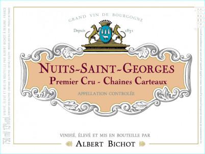 Nuits-Saint-Georges Premier Cru Chaînes Carteaux - Albert Bichot - 2018 - Rouge