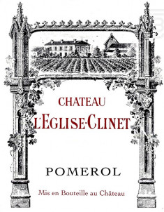 Château l'Eglise Clinet - Château l'Eglise-Clinet - 2012 - Rouge
