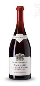 1er Cru Les Cent-vignes - Château de Meursault - 2016 - Rouge