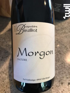 Morgon - Domaine Bulliat - 2019 - Rouge
